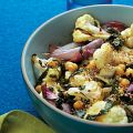 Roasted Cauliflower and Shallots with Chard and[...]