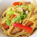 Thai Chicken Spaghetti