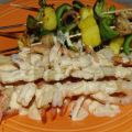 Grilled Shrimp With Spicy Lime Cream
