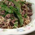 Asian Beef and Noodle Toss