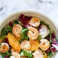 Grilled Shrimp Salad with Orange, Endive, Baby[...]