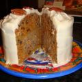 Carrot Cake With Pecan Cream Filling and Cream[...]