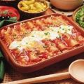 Red Enchiladas with Cream Cheese and Pecan[...]