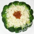 Egg-White Broccoli with Osmanthus Recipe