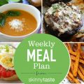 Skinnytaste Meal Plan (January 15-January 21)