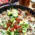 Mexican Shredded Beef Tamale Pie