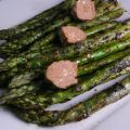 Grilled Asparagus With Barbecue Butter