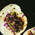 Pickled Beef Tacos with Charred Avocado Salsa
