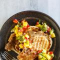 Grilled Pork Chops with Tropical Salsa