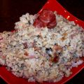 Risotto Mouselin (Rice and Prosciutto Dish)