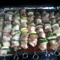 Baked Chicken Kabobs