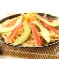 Japanese Avocado and Crab Sticks Pasta[...]