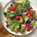 Spinach Salad with Honey Dressing and Honeyed[...]
