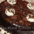 Russian Black & White Chocolate Cake