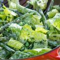 Green Salad with Peas, Green Beans, and[...]