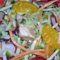 Chinese Chicken Coleslaw Salad