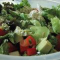 Mexican Salad With Honey Lime Dressing