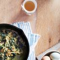 Scrambled Eggs with Spinach & Parmesan
