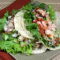 Shrimp Tacos With Crunchy Vegetables