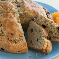 Irish Soda Bread with Raisins and Nuts Recipe