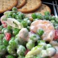 Shrimp Salad With Peas