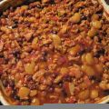 Ground Chicken and Bean Bake Recipe