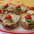 Lasagna Cupcakes With Pesto