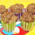 Chocolate Pudding Zucchini Muffins