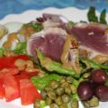 Grilled Tuna Salad Nicoise