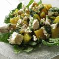 Chicken Salad With Nectarines in Mint[...]
