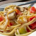 Cajun Chicken and Linguine