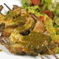 Grilled Shrimp With Charmoula