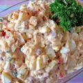 Potato Salad With Pork and Beans & Eggs