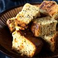 Corn Bread with Tomato Chutney