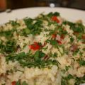 Risotto With Artichoke Hearts, Prosciutto, and[...]