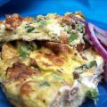 Smoked Salmon and Cream Cheese Frittata