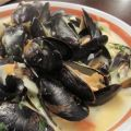 Steamed Mussels with Fennel, Tomatoes, Ouzo,[...]