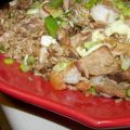 Fried Rice With Shrimp, Pork, Shiitake Mushrooms