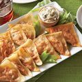 Buffalo Chicken Pot Stickers