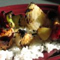 Hawaiian Chicken Kebabs - Weight Watchers