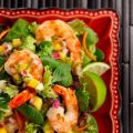 Grilled Shrimp With Pineapple Cucumber Salsa