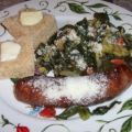 Italian Sausage With Broccoli and Collards (Or[...]