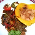 Acorn Squash With Apple Stuffing