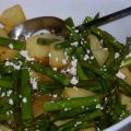 Roasted Potatoes and Asparagus with Light Blue[...]