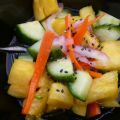 Cucumber Salad With Pineapple and Jalapeno