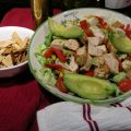 Barbequed Chicken Salad with Toasted Lavash[...]