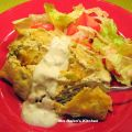 Green Chili Chicken Enchilada's
