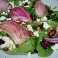 Spinach Salad With Roasted Red Onions, Pecans,[...]