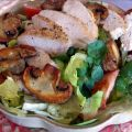 Chicken Salad With Sauteed Mushrooms