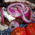Grilled Lamb Burgers W/ Marinated Red Onions,[...]
